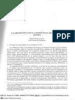 La Gramatica en La Enseñanza en Las Lenguas Afines