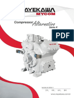Mayekawa, Compressor Alternativo Serie K