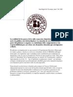 Firmas para reclamar al Intendente de Tucumán el Plan Sanitario para las Mascotas Abandonadas