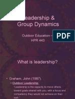 Leadership Group Dynamics | Norm (Social) | Leadership