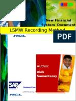 2 LSMW Recording Method