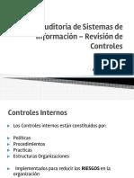 Auditoria de Sistemas de Información _ Revisión de Controles