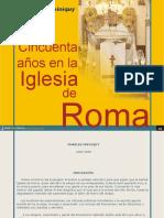 Cincuenta Años en La Igl.roma