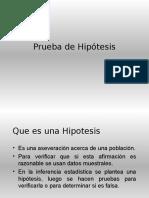 Pruebas de Hipotesis1