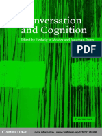 Conversation and Cognition 1st Edition {PRG}