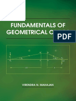 Virendra N. Mahajan Fundamentals of Geometrical Optics