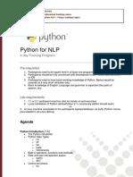 python NLP