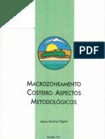 Macrozoneamento Costeiro- Aspectos Metodologicos GRAVINA