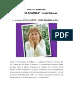 Análisis Literario La Bolsa Amarilla
