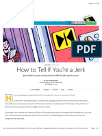 Are You a Jerk?