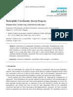 hydrophilic carotenoids