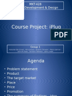Group 1 - Course Project - MKT-428 PD&D
