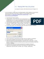 MIS 564 Homework 1 - Making MP3 Files