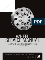 Wheel Service Manual - EnGLISH