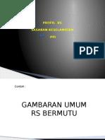 Presentasi Dir RS Ttg Profil RS & SKP