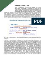 Fisiopatologia Del Segnale Lezione 1 e 2