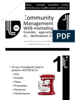 WEBMARKETING COMMUNITY MANAGEMENT