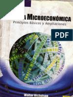 Teoria Microeconomica 8va Edicion Walter Nicholson