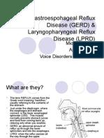 Gastroespohageal Reflux Disease (GERD) Amp.ppt Amp.ppt Laryngopharyngeal