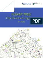 Kuwait Geospatial Database Specification