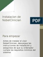 Instalacion de NobelClinician