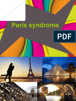 Paris Syndrome ..