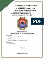 Reporte 1 Pan de Labranza