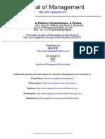 Behavioral Ethics in Organizations