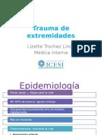 Trauma de extremidades.pptx