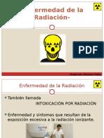 Enfermedad de La Radiacion Ionizante