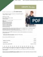 "DROPS Extra 0-809 - Pulóver DROPS Para Hombre, De Punto, Con Jacquard Noruego en ""Karisma"". Talla_ S – XXXL. - Free Pattern by DROPS Design"