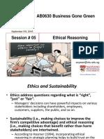 Week 5b Ethical Reasoning
