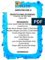 Informe Final proyecto de computacion