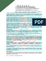 O Simbolismo Dos Utensilios Para Transformar a PB e PC