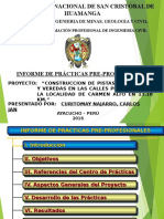 Exposicion Informe Practicas Carlos Jan Curitomay Najarro 16060721