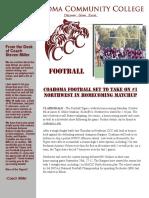 Football Newsletter Oct. 8