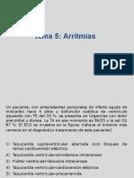 Arritmias y Valvulopatias Primera Vuelta