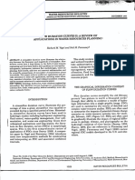 Water Resources Bulletin 1995 Vogel