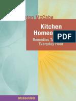 Kitchen Homeopathy