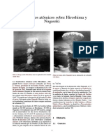 Bombardeos Atómicos Sobre Hiroshima y Nagasaki[1]