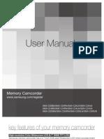 Samsung Camcorder SMX-C24 User Manual