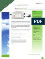 eIQ Datasheet - 250-WATT DC-TO-DC Converter Module