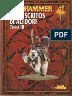 Warhammer Fantasy - Manuscritos de Altdorf (Tomo III)