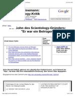 Sohn des Scientology-Gründers- Er war ein Betrüger