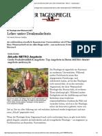 Christentum Unter Denkmalschutz