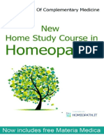 Home Study Course-homeopath