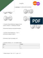 Ficha de trabalho de Matemática -  8º anos - Funções