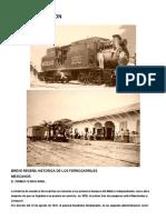 Historia Del Ferrocarril en México