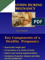 Nutrisi Pada Masa Kehamilan