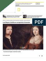 Los Reyes Católicos Conquistan Granada